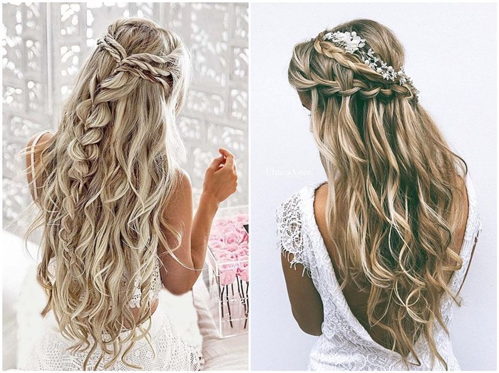 19 Stylish Wedding Hairstyles to Brighten up Your Big Day!