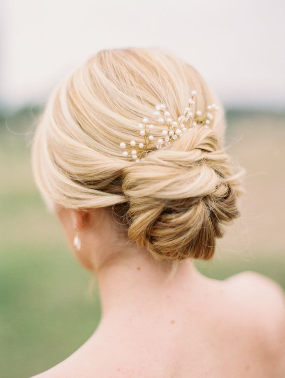 Elegant And Stylish Wedding Hairstyle