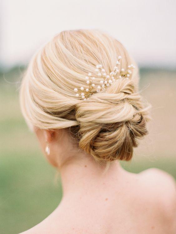 Elegant And Stylish Wedding Hairstyle