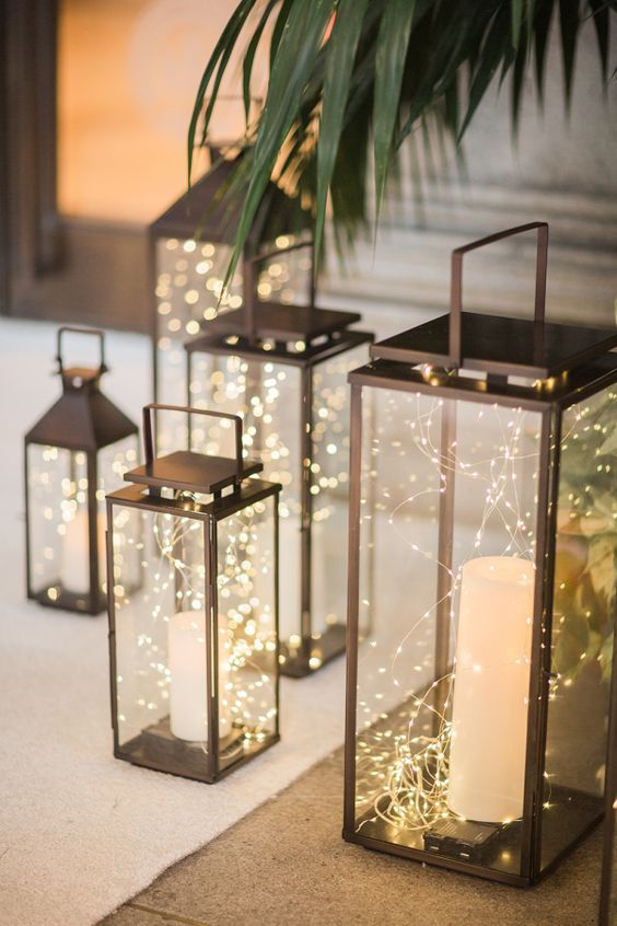 20 Rustic Lantern Wedding Decoration Ideas to Light up Your ...