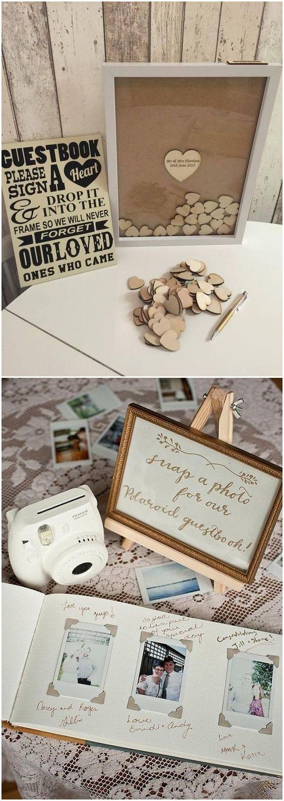 Fun and Creative Wedding Guestbook Alternatives