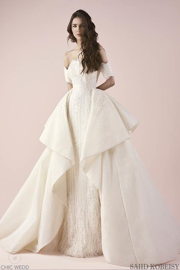 Saiid Kobeisy 2018 Wedding Dress Collection