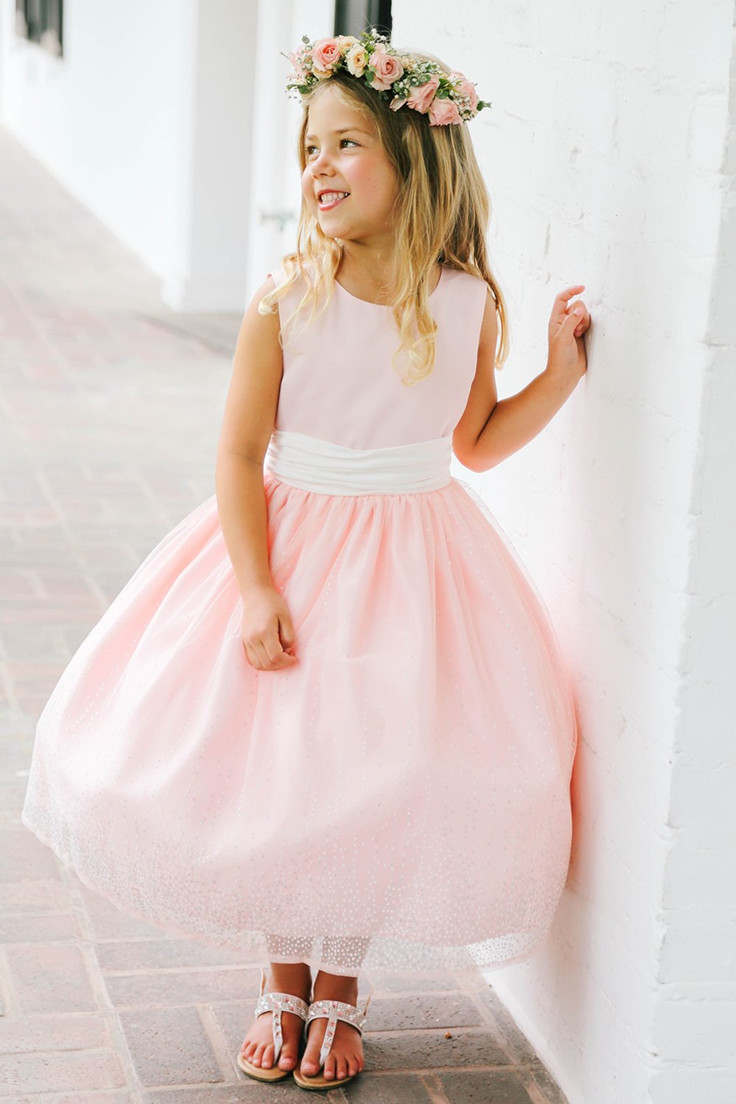Oh so stinking cute! We are seriously crushing on Adorable Flower Girl Dresses