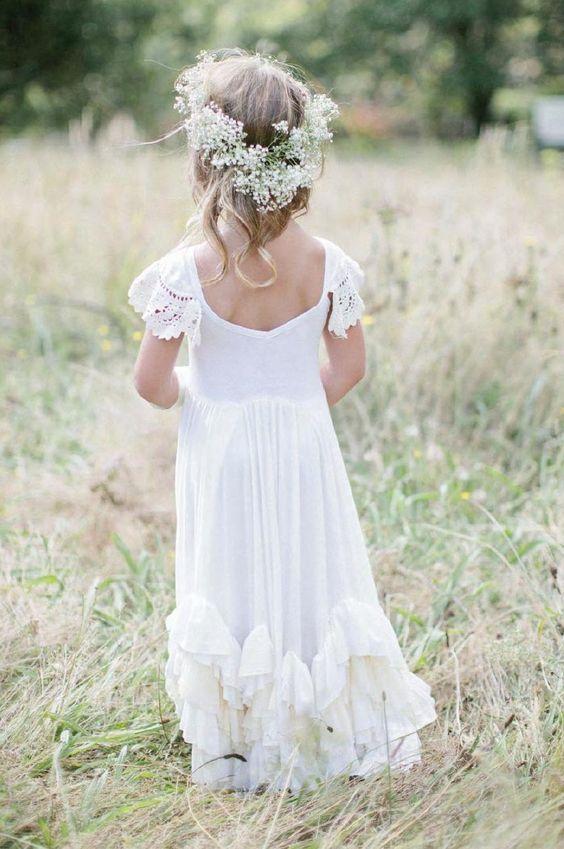 Blush Sleeveless Satin Bodice Flower Girl Dress with Sparkle Tulle Skirt