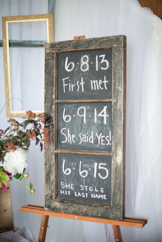 18 Rustic Budget-Friendly Wedding Signs Ideas