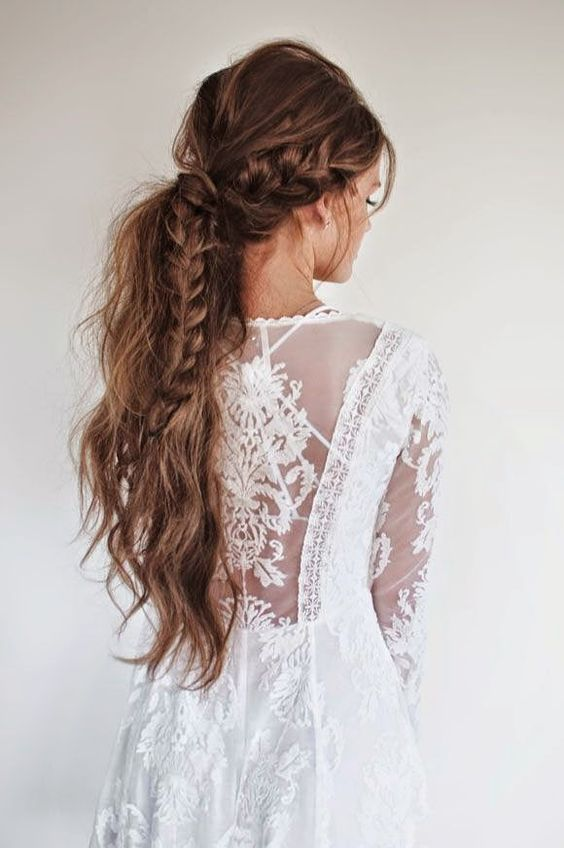 21 BOHO INSPIRED Unique and Creative Wedding Hairstyles