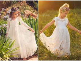 Cutest (and Affordable) Flower Girl Dresses for The Little Ones