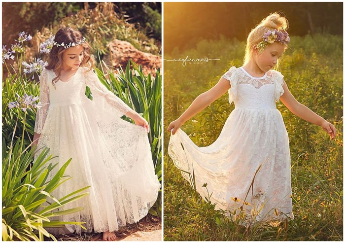 d5196e1e8 20+ Cutest (and Affordable) Flower Girl Dresses for The Little Ones ...