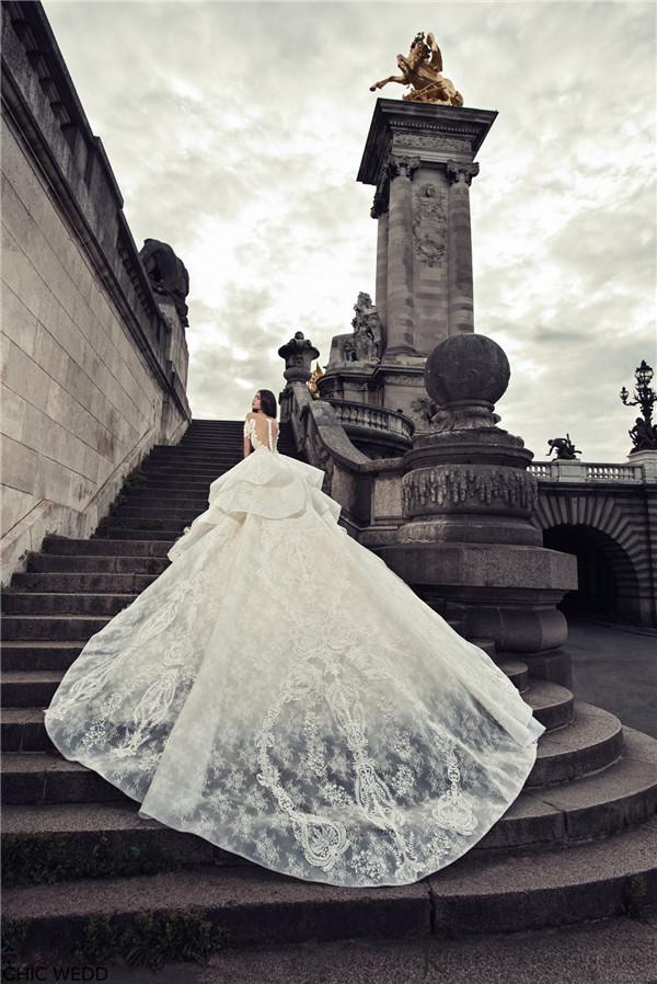 Julia Kontogruni Wedding Dresses 2018 Paris Collection
