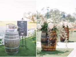 Marvelous DIY Wine Barrel Wedding Decoration Ideas