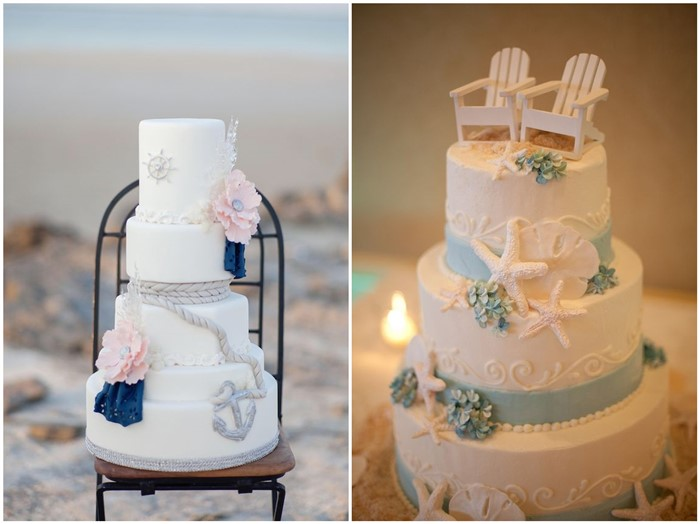 19 mouth watering summer beach wedding cakes to get inspired chicwedd summer junglespirit Choice Image