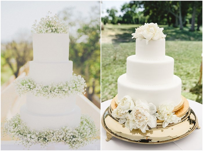 easy wedding cakes ideas 18 simple white wedding cakes ideas for your 2019 wedding 13856