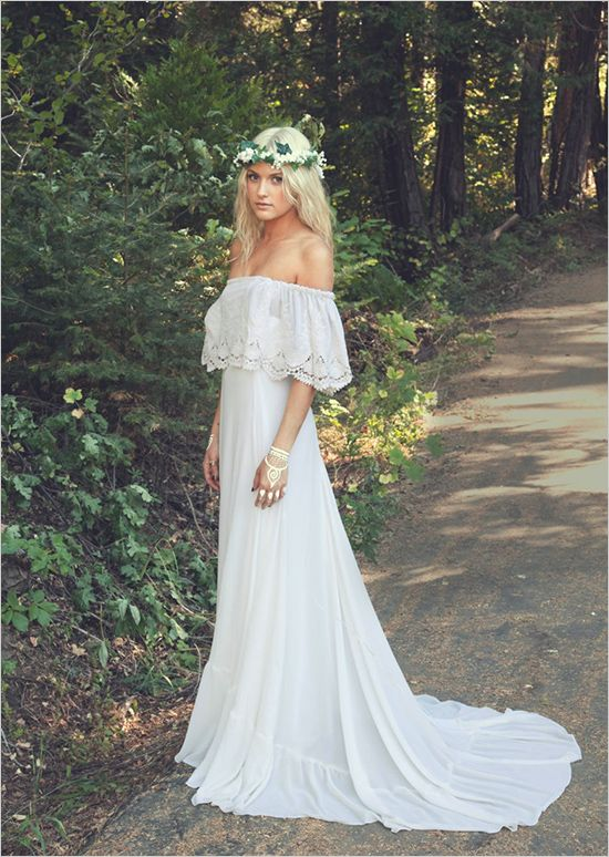 18 Dream and Chic Bohemian Wedding Dresses - Page 2 of 2 - ChicWedd