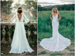 Dream and Chic Bohemian Wedding Dresses