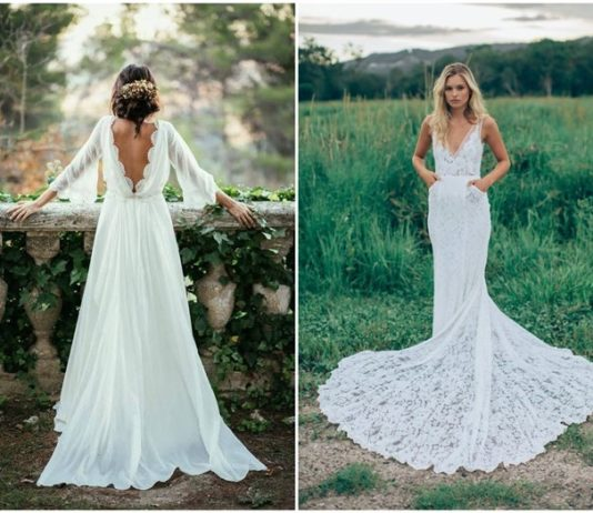 Dream and Chic Bohemian Wedding Dresses