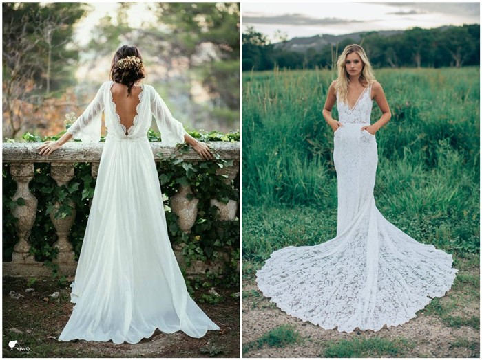 18 dream and chic bohemian wedding dresses chicwedd dream and chic bohemian wedding dresses junglespirit Gallery