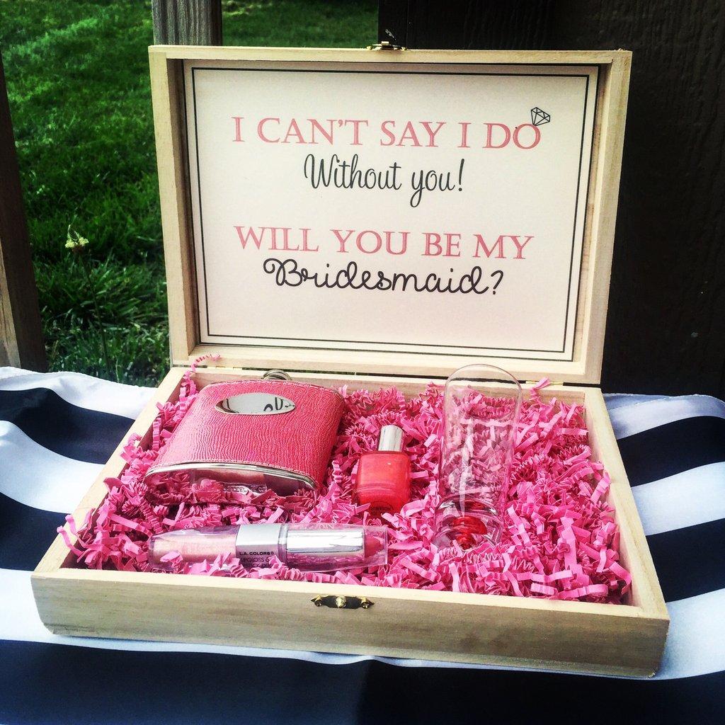 """""""Will You Be My Bridesmaid?"""" 18 Creative Bridesmaid"""