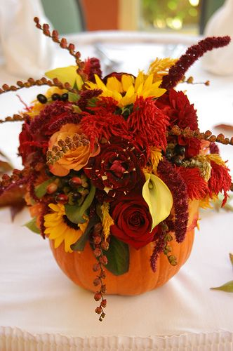 Falling For These Fall Centerpieces