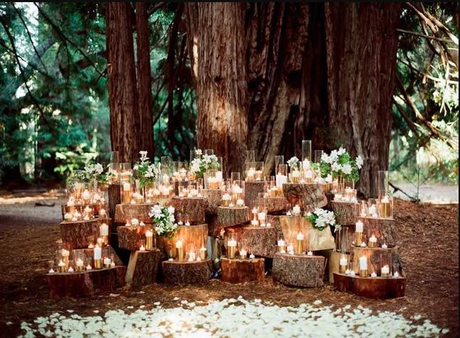 Romantic Outdoor Fall Wedding: 21 Awesome Fall Wedding Ideas Worth Stealing!