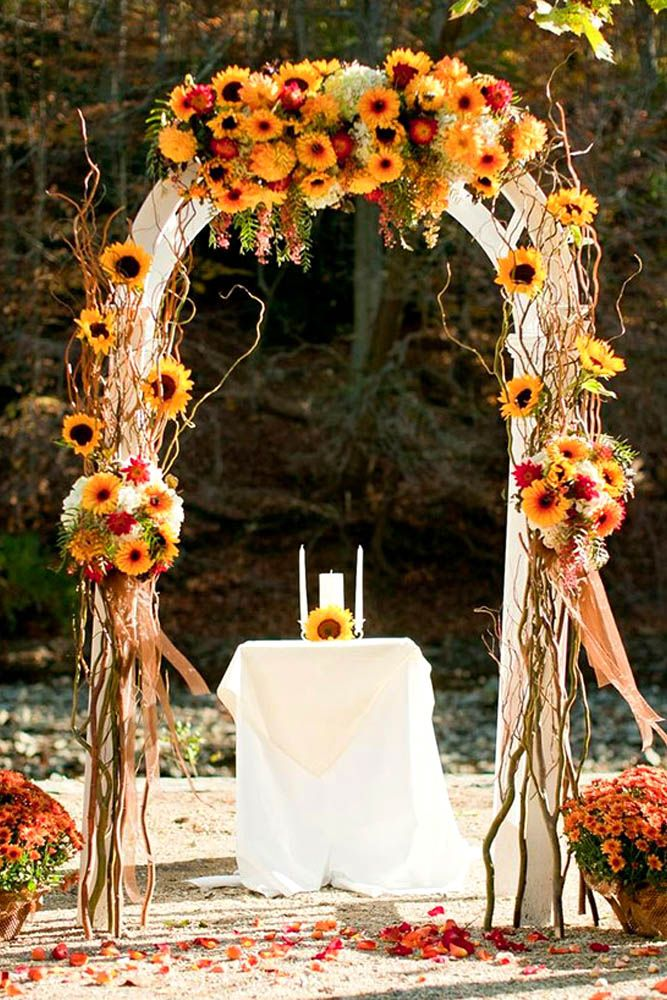 Incredible Ideas For Fall Wedding Decoration