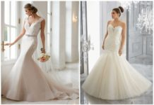 Flattering Mermaid Wedding Dresses
