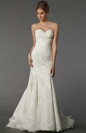 18 Flattering Mermaid Wedding Dresses