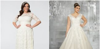 Romantic and Eye-catching Plus Size Wedding Dresses