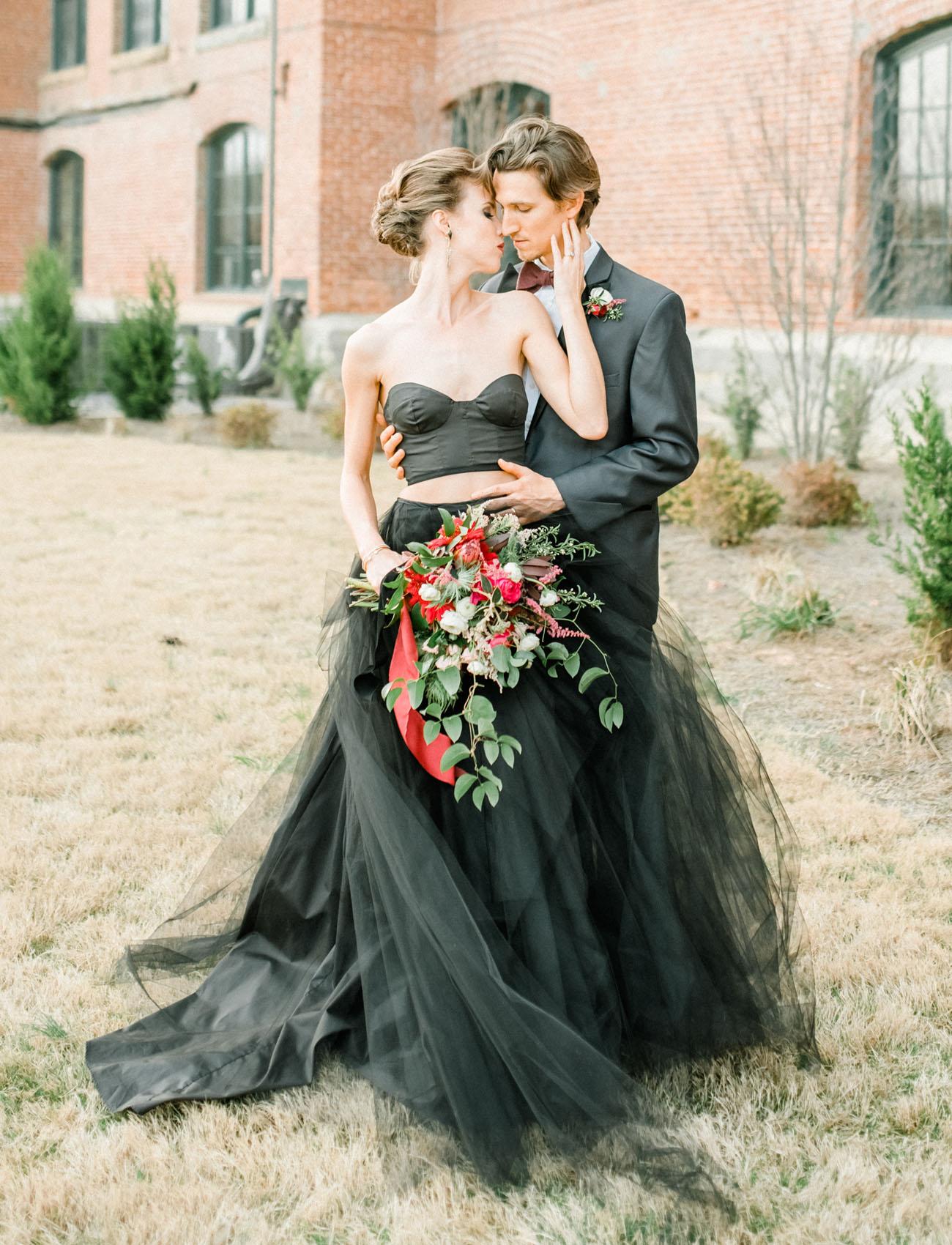 23 Romantic And Stylish Black Wedding Dresses Chicwedd,Wedding Dresses Nordstrom Sale