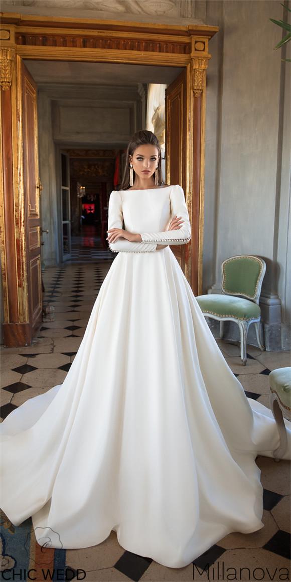 610bce82be Milla Nova 2018 Wedding Dresses Collection - ChicWedd