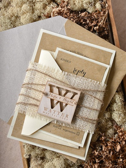 Chic Rustic Wedding Invitations that Wow