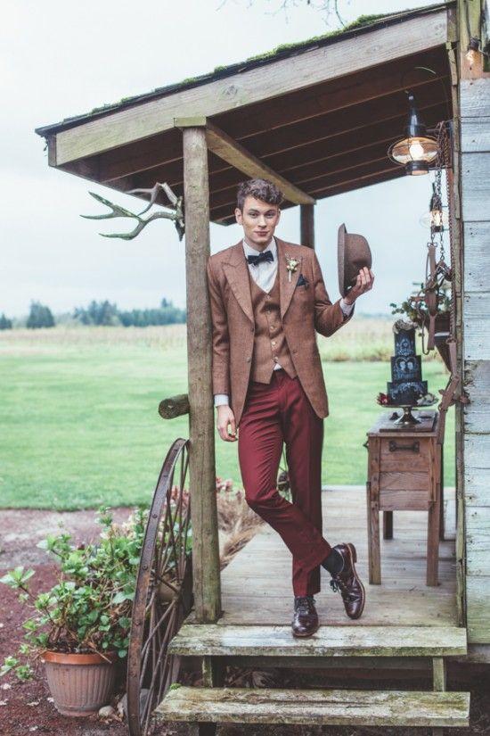 20 Coolest Vintage Groom Attire Ideas Chicwedd