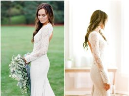 Long Sleeve Wedding Dresses We're Obsessed with
