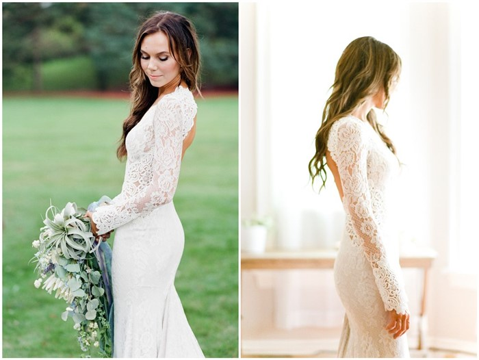 3f5c1e3c0476 20 Long Sleeve Wedding Dresses We're Obsessed with - ChicWedd