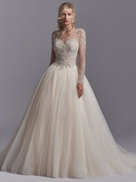 Wedding Gowns With Sleeves.20 Long Sleeve Wedding Dresses We Re Obsessed With Chicwedd