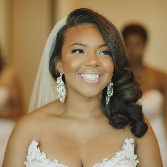 18 Wedding Hairstyles For Black Women To Drool Over 2018 Chicwedd