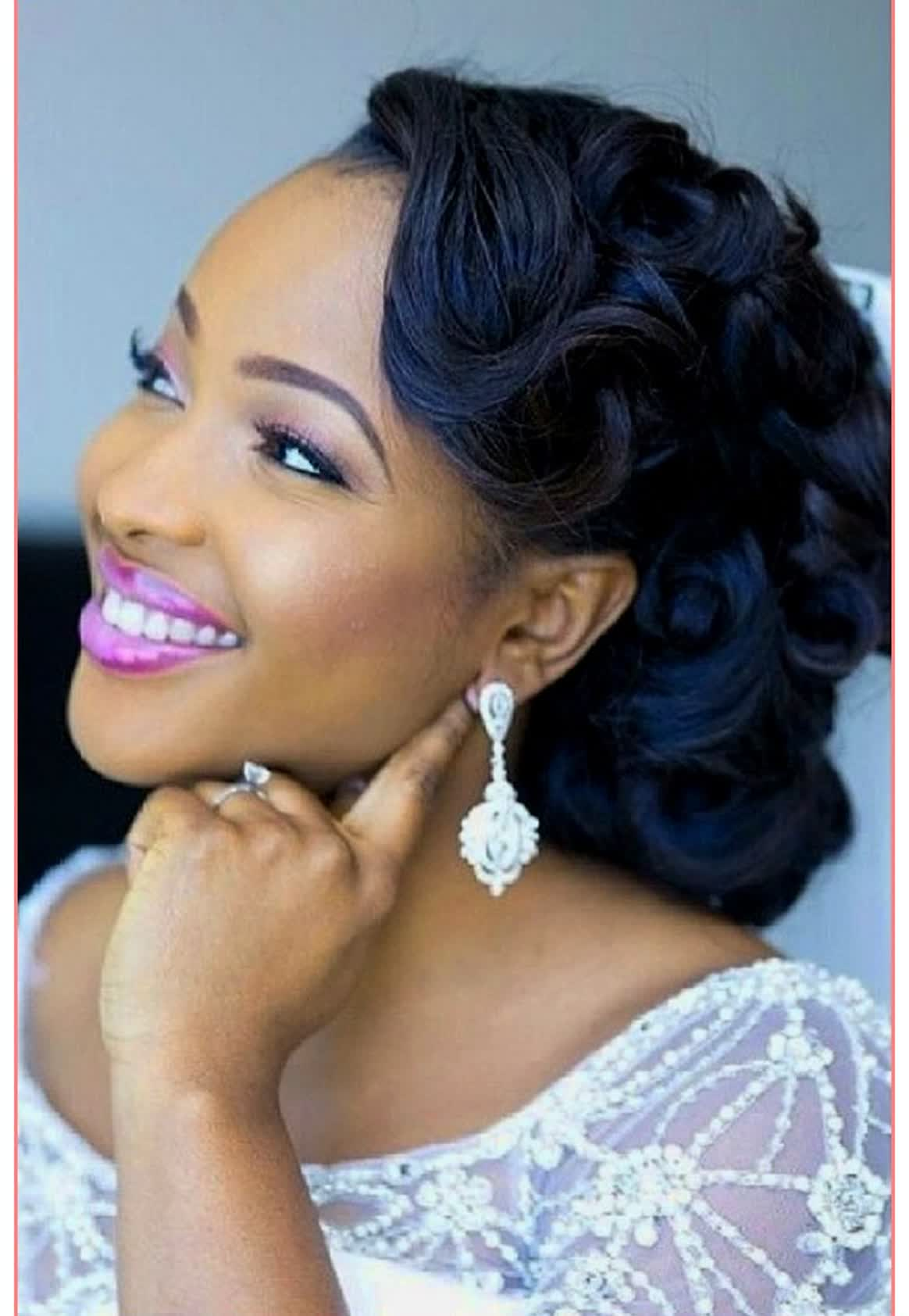 18 Wedding Hairstyles for Black Women To Drool Over 2018 - ChicWedd
