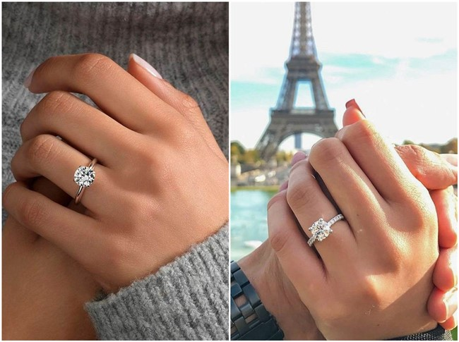 18 Simple But Gorgeous Engagement Ring Ideas   ChicWedd