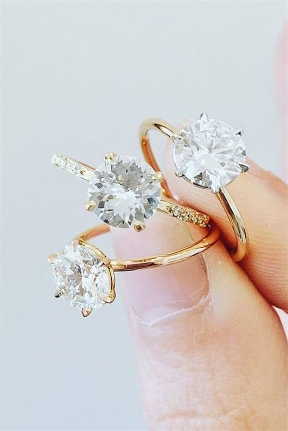 Single Stone Engagement Rings