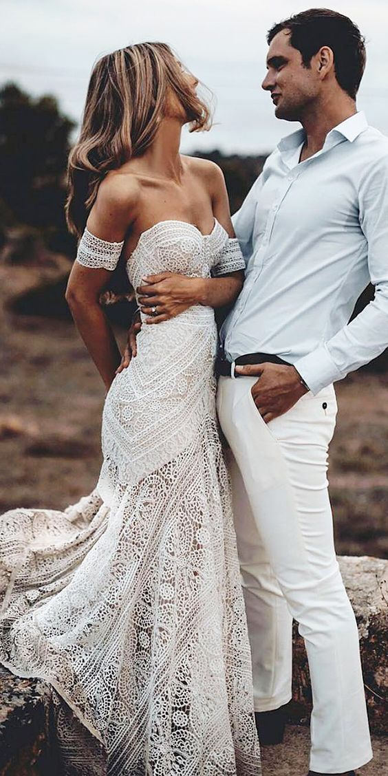 32 Beach Wedding Dresses Ideas To Stand Out!