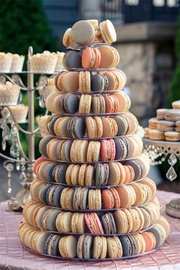 Macarons Wedding Cake Alternatives