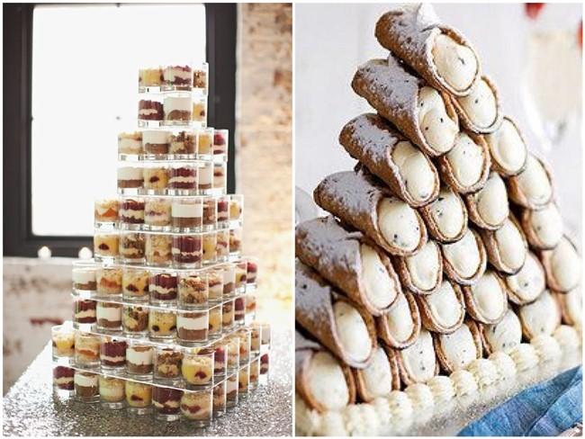 Wedding Cake Alternatives.18 Eye Catching And Mouth Watering Wedding Cake Alternatives Chicwedd