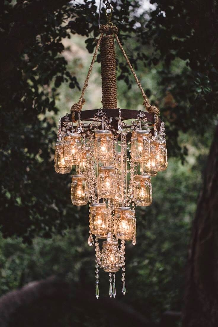 Beautiful DIY Chandelier Ideas