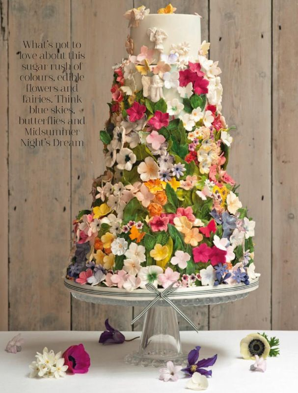 Awesome Valentine's Day Wedding Cakes