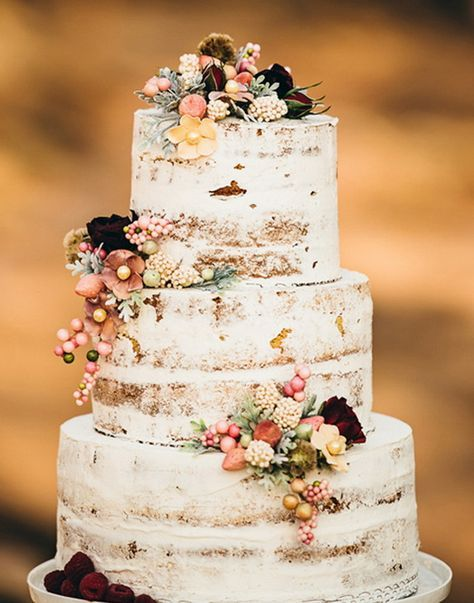 Delicious Fall Wedding Cakes To Get Inspired