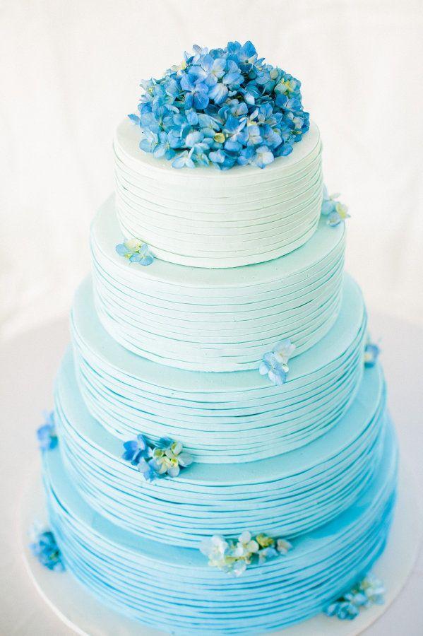 Elegant Blue Wedding Cake Ideas You Will Like