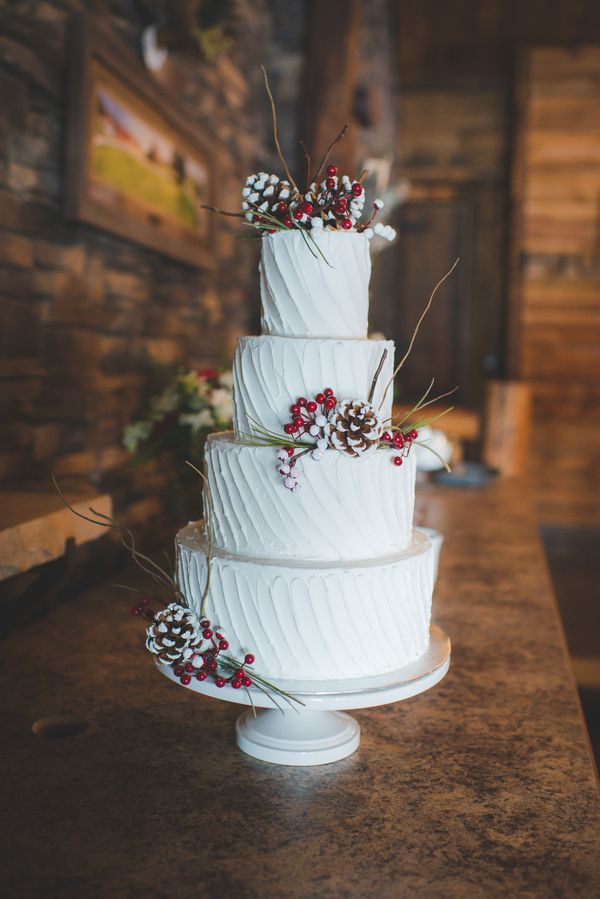 Fabulous Winter Wedding Cakes for Your Wedding