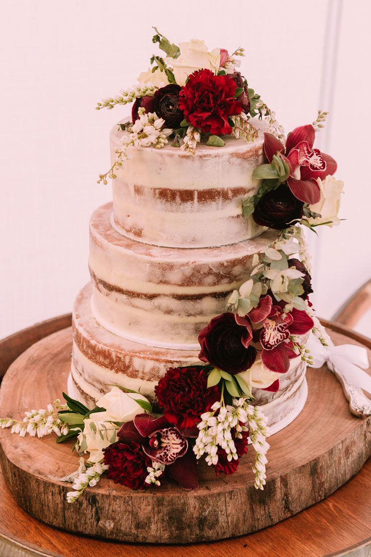 36 Naked Cakes For Spring Weddings - ChicWedd