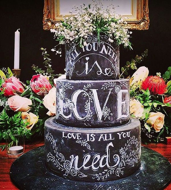 Non-Traditional Wedding Cakes You Will Love