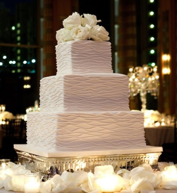 Square Wedding Cakes That Wow