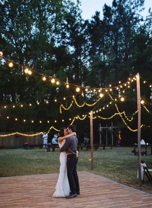 backyard wedding ideas